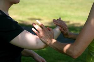 Sword & Sensing Hands @ Pratt Park