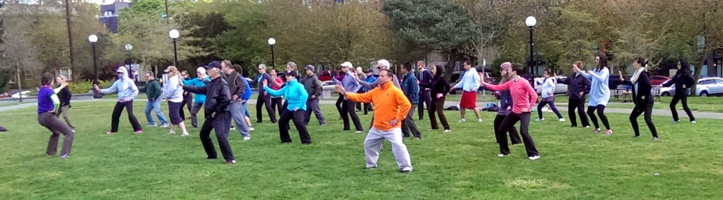 World Tai Chi Qigong Day - Seattle @ Cal Anderson Park